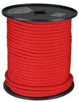 šňůra pletená, PPV kružberk, bez jádra, O 6 mm x 100 m, Lanex