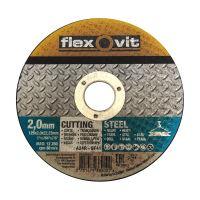 kotouč Flexovit, řezný, na kov a nerez, 180 x 22,23 x 1,6 mm, profi
