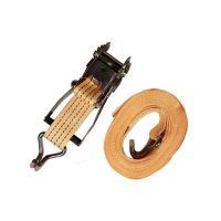 TOPTRADE pás upínací, s háky a ráčnou, do 4000 kg,  50 mm x 8 m