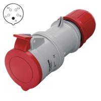 spojka pro přívod, plastová, 5 pólů, 32 A/400 V, IP44