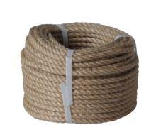 lano stáčené, přírodní s polypropylénem, bez jádra, J-PP, O 8 mm x 20 m, Lanex