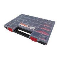 organizér plastový, norS, přepážkový systém, 399 x 303 x 50 mm