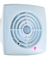 REFLEX ventilátor axiální RETIS WR,bílý, časový spínač,220 V, 220m3/hod.,197x197mm,vývodO150mmxxx