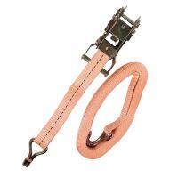 TOPTRADE pás upínací, s háky a ráčnou, do 1500 kg,  27 mm x 5 m