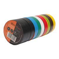 páska elektroizolační, sada 10 ks, 15 mm x 10 m