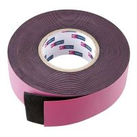 páska izolační, vulkanizační, elektrikářská, černá, 0,76 x 25 mm / 5 m