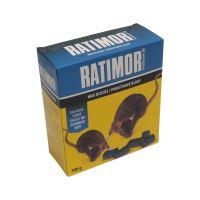 návnada RATIMOR BRODIFACOUM, parafínová,  300 g