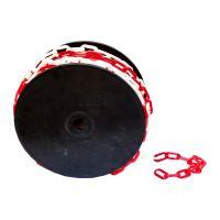 TOPTRADE řetěz plastový, na cívce, 3 mm x 50 m