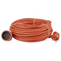 kabel prodlužovací, oranžový, 20 m, ~ 250 V / 16 A