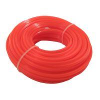 TOPTRADE struna do sekačky, plastová, průřez čtvereček, 3 mm x 15 m