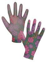 rukavice LEIVA, máčené v polyuretanu, velikost 8